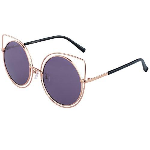 Mohawk Eyewear - Lunette de soleil - Femme - violet - KYPayGiOeA