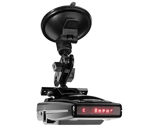 (PerformancePackage™ SuctionMount Radar Detector Clamping Suction Cup Mount - Escort Redline, 9500iX, 9500i, 8500i)