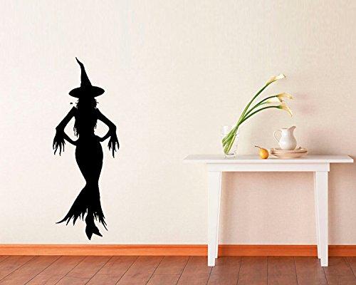 FSDS Vinyl Wall Decal - Halloween Witch Halloween