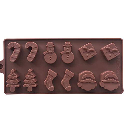 Clay Extruders - Halloween Silicone Mold Diy Cake Fondant Decorating Cookies Chocolate Baking Decoration Polymer - Presses Clay Extruders Professional Mixers ()