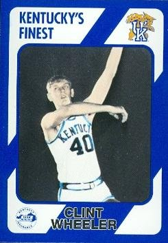 Clint Wheeler Basketball Card (Kentucky) 1989 Collegiate Collection #93