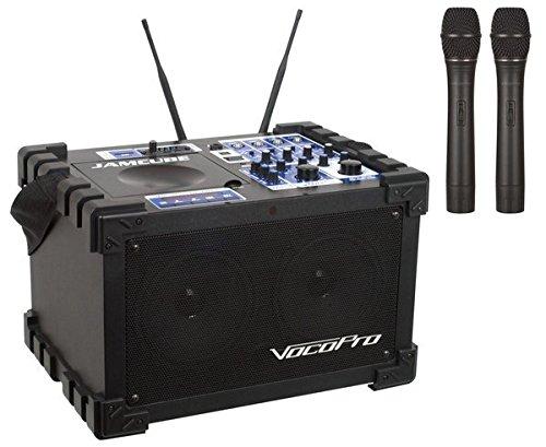 VocoPro Karaoke System, 21.00 x 21.00 x 23.00 (JAMCUBE2)