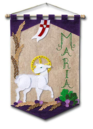 Deluxe First Communion Banner Kit: Lamb - Single Kit (Illuminated Ink 830) by Illuminated Ink]()