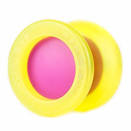 YoyoFactory Replay Pro Yo-Yo (Yellow / Violet) by Yo Yo Factory