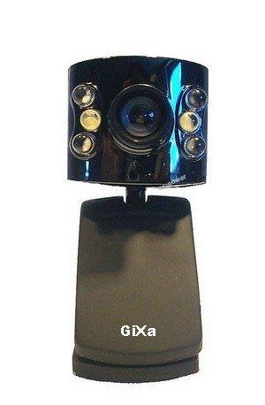 *GiXa Technology* 16.0 MP Megapixel USB Webcam + Micro (Mikrofon) Mini Camera Web Chat Konferenz Cam für PC / Notebook / Netbook / Laptop / Web Cam (Web Kamera) für das Internet Chatten (TFT-Monitor / Notebook Halterung oder Tischstativ)!