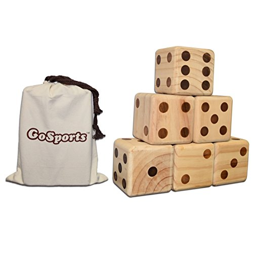 gosports-giant-wooden-playing-dice-set-for-jumbo-size-fun-includes-6-dice-and-canvas-carrying-bag