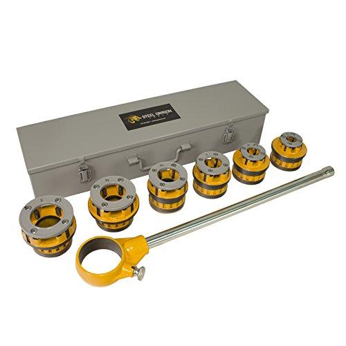 (Steel Dragon Tools 12-R 1/2in. - 2in. Manual Ratchet Threader Set fits RIDGID 700 41935 12R 36475)