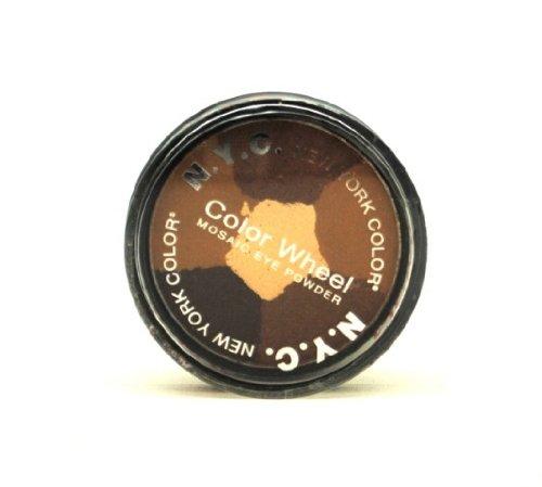 NYC Color Wheel Mosaic Eye Powder, 820B Brown Sugar