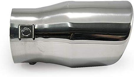 Autohobby 3907 Auspuffblende Auspuff Universell Schalldampfer Sport Sportauspuff Endrohr Endrohrblenden Blende Edelstahl Auto