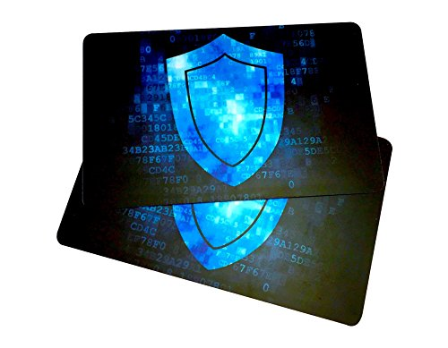 2 RFID Blocking Cards by RMS Unlimited Goods - The Original Security Card. Protects Your Wallet While You Travel. Complimentary E-Books on ID Theft & Repair