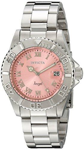 Invicta 14360 – Reloj de cuarzo para mujeres, color plata