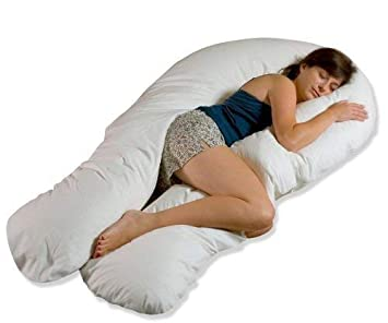 Comfort U Total Body Support Pillow Full Size.Comfort U Total Body Pregnancy Support Pillow Full Size