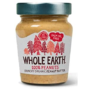 Whole Earth WEH02002 - Mantequilla de cacahuetes, 227 g: Amazon.es ...
