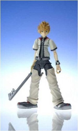 amazon com kingdom hearts 2 roxas action figure toys games