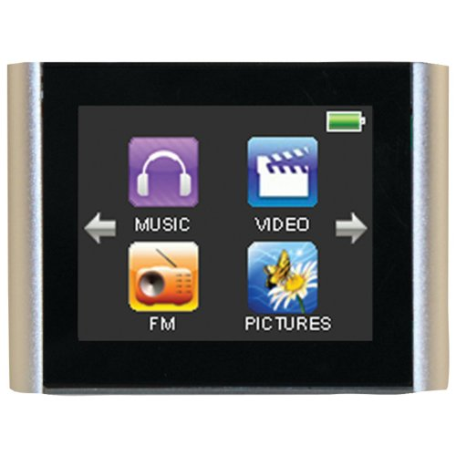 Eclipse T180 1.8-Inch 4 GB Touchscreen MP3 Player (Silver)