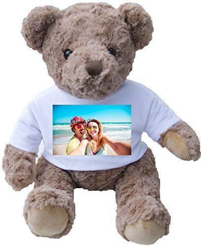 MYLOVEWENDI DIY Customized Photo Name Design Text Picture On Plush Toy Teddy Bears
