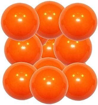 Manuel Gil Lote Bola futbolin superdura Naranja 36g Gramos 34mm 12 ...