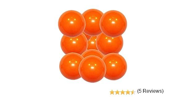 Manuel Gil Lote Bola futbolin superdura Naranja 36g Gramos 34mm 12 Unidades: Amazon.es: Deportes y aire libre