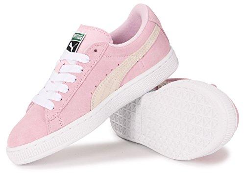 Mädchen Sneaker Puma Junior Rosa Classic Suede SwCxfd