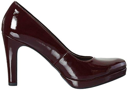 Tamaris 22426, Zapatos de Tacón para Mujer Rojo (BORDEAUX PAT. 580)