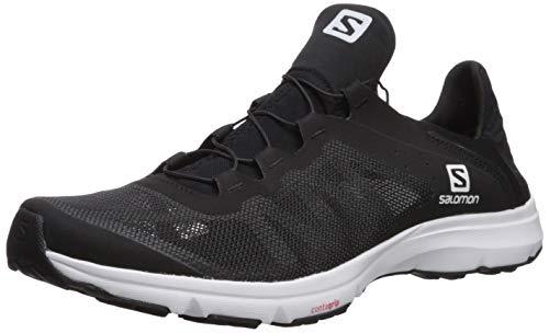 (Salomon Men's Amphib Bold Athletic Shoe, Black/Black/White, 12 Regular US)