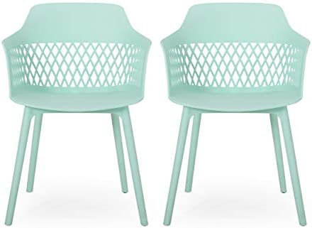 Christopher Knight Home 312179 Madeline Outdoor Dining Chair Set of 2