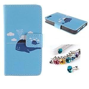 Carcasas de Cuerpo Completo - Diseño Especial - para iPhone 5C ( Multicolor , Cuero PU )