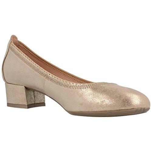 para Modelo HISPANITAS V6 Palermo Gold HISPANITAS Bailarina Zapatos Mujer Color Bailarina Gold para Mujer Zapatos Marca xH0w4v