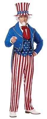 California Costumes Men's Uncle Sam Adult