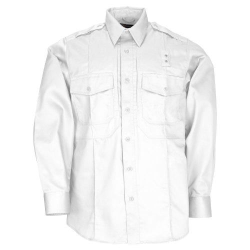5.11 Camisa de manga larga de sarga PDU de clase B para hombre