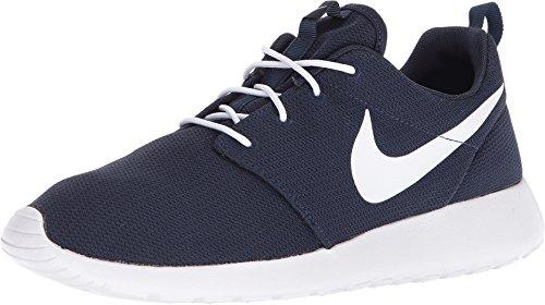 Nike Men's Roshe One Running Shoes, Obsidian/White, 7.5