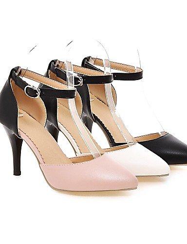 talones aguja us10 carrera de la zapatos ZQ 5 de PU oficina negro dedo ocasional las pie cn42 uk8 del 8 pink 5 del 10 cn43 eu41 mujeres uk7 us9 pink 5 tacones punta tac¨®n 5 5 uk8 en de eu42 amp; de pink 5 us10 eu42 qw7qOx41X