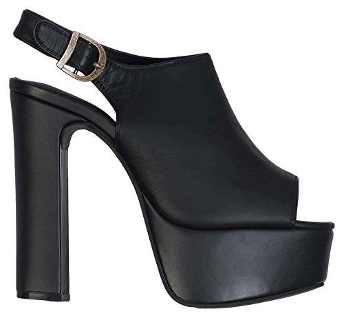 Campbell In Black Sandal Women's Leather Jeffrey Jeffrey Jackpot Black Campbell Yzq1tawF