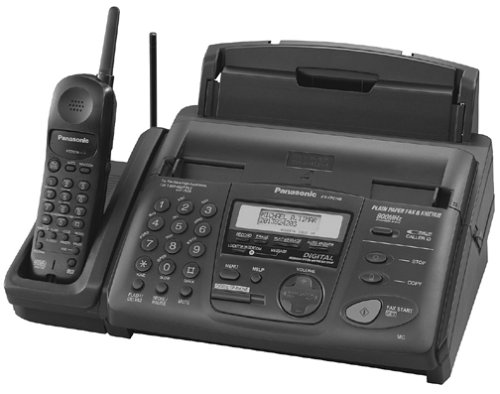 Panasonic KX-FPC165 Fax Machine with Cordless Phone (Fax Machines Cordless Phones)