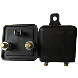 E Support Car Auto Heavy Duty Split Charge DC 12V 100A 100 AMP SPST Relay 4 Pin 4P RL180