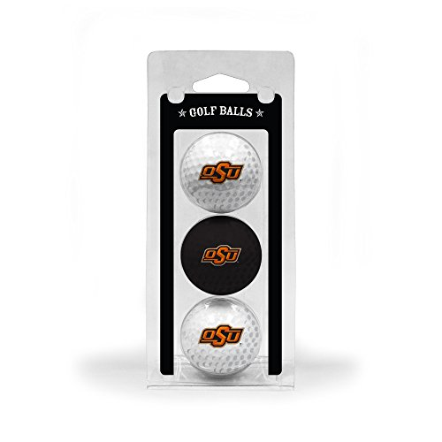 Oklahoma State University 3-Pack Golf (Oklahoma State Golf Balls)