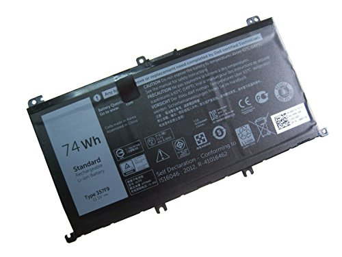 ZWXJ 74WH LAPTOP BATTERY Type 357F9 For Dell Inspiron 15 7559 7000 Series 357F9