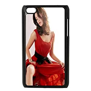 iPod Touch 4 Case Black Olivia Wilde In Red Dress Zxfig