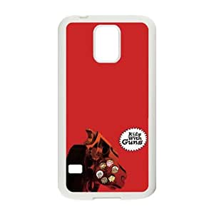 Gorillaz Kids With Guns Samsung Galaxy S5 Cell Phone Case White DIY TOY xxy002_901417