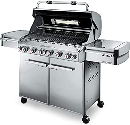 Amazon.com: Weber Summit 7370001 S-670 Stainless-Steel 769-Square ...