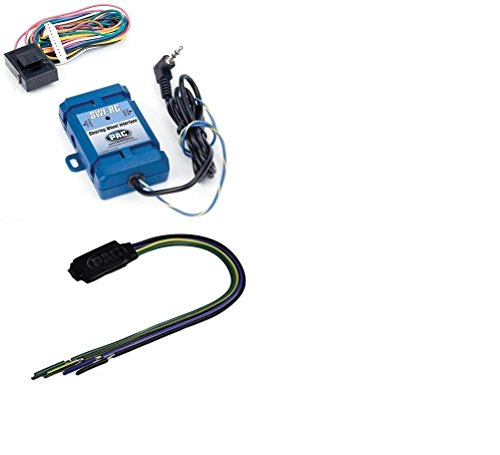 PAC SWI-RC Steering Wheel Control Interface+PAC TR1 Video Lockout Bypass Trigger Module by CACHE, PAC