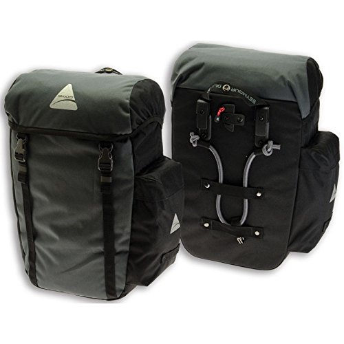 Axiom Gear Seymour Dlx 20 Rear Panniers Black
