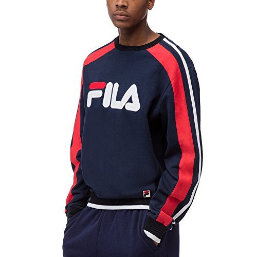 fila-mens-classic-fleece-crew-sweatshirt-navy-white-chinese-red-3xl