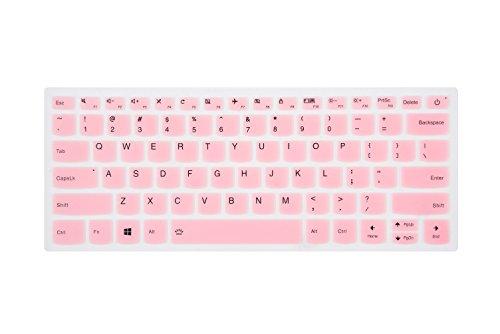 Leze - Ultra Thin Keyboard Cover Protector for Lenovo Yoga 720 12.5,Yoga 720/730 13,Yoga 920 14,Yoga C930,ideapad 720s 13/14 Laptop - Pink