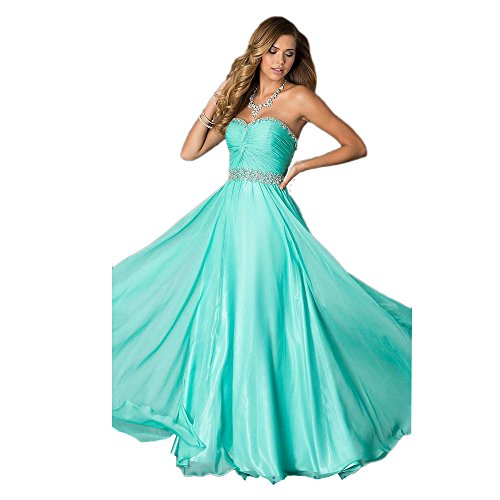 Alyce Paris Strapless Chiffon Gown Water – 12