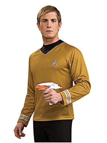 (Rubie's - Star Trek Mens Deluxe Captain Kirk Costume -)