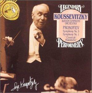 Prokofiev: Symphonies Nos. 1 & 5 (Legendary Performers)
