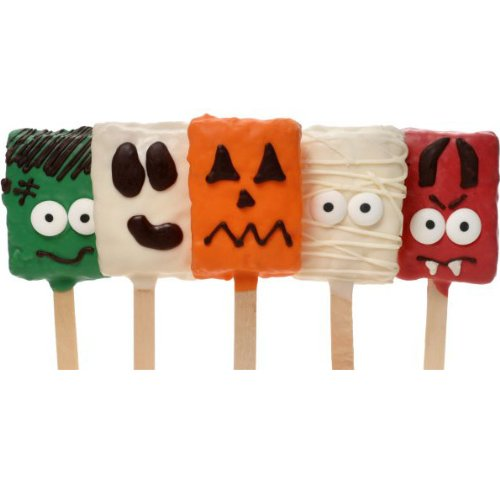 Spooky Crispy Rice Characters- Individually Wrapped Set of 5 ()