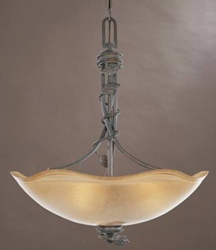 Designers Fountain 95631-OB Timberline Inverted Pendant, Old Bronze