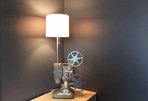 Vintage Table Lamp/Desk Lamp - Keystone Regal 8MM Projector - Hollywood décor (Hollywood Projector)